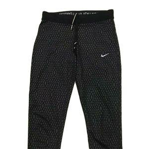 Nike Running Women's Dri Fit Leggings Zip Pocket
